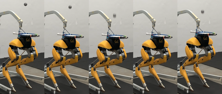 Ball Juggling on the Bipedal Robot Cassie